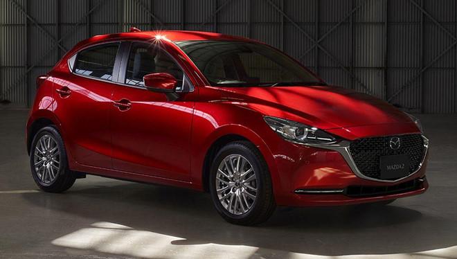 Mazda 2 ban nang cap thay doi ngoai hinh, them cong nghe an toan hinh anh 1